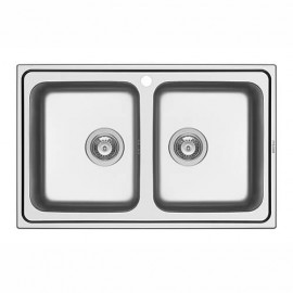 Kitchen sink ALEA 79x50 2B